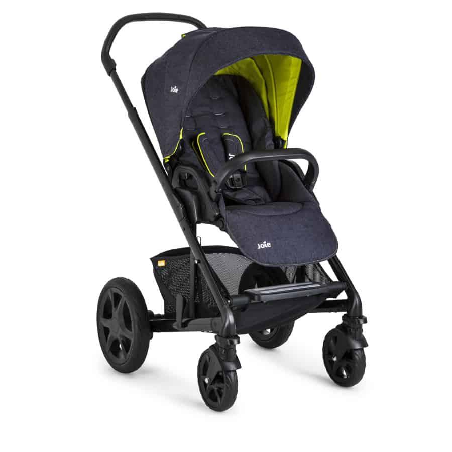 joie kinderwagen chrome dlx denim zest a160670 todo para mi beb. Black Bedroom Furniture Sets. Home Design Ideas