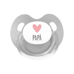 dia del padre chupete i love papa gris