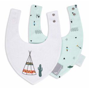 babero bandana set 2 tipi