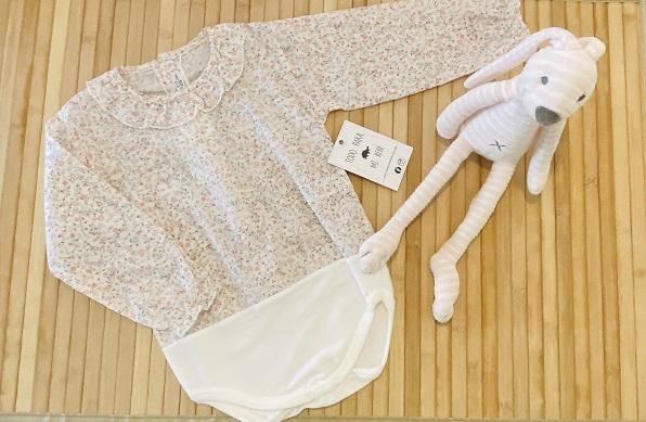 body camisa estampado floral