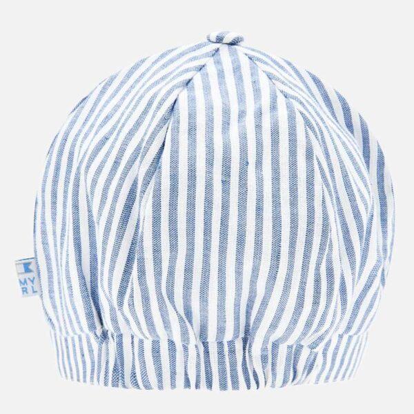 Gorra juvenil para bebé niño recién nacido con un diseño versátil y actual, perfecta como accesorio para los días soleados. Elementos de adorno: botón decorativo.