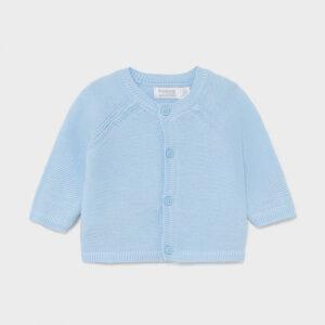 Prenda ECOFRIENDS 100% algodón orgánico. Chaqueta de tipo cardigan de manga larga para recién nacido niñ