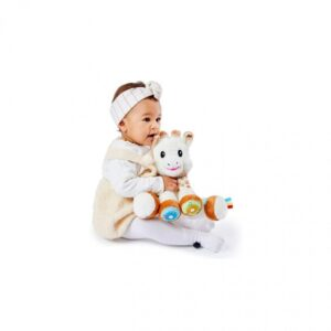 Peluche interactivo musical sensorial Touch and Play Sophie la Girafe