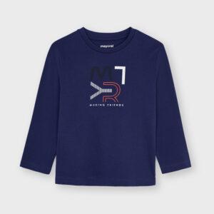 Camiseta basica mayoral Azúl ecofriends