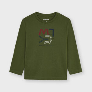 Camiseta basica mayoral Verde ecofriends