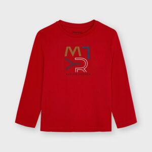 Camiseta basica mayoral roja Ecofriends