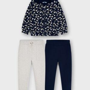 Chandal con 2 pantalones para niña Marinos
